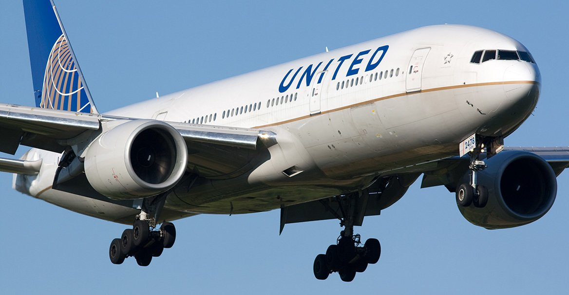 aviacion web 3.0 united airlines